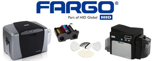 Fargo HID Card Printer Ribbons and Photo ID Laminates