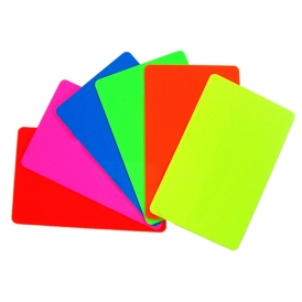 blank fluorescent 30mil pvc id cards - Blank Plastic Cards